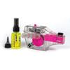 Muc-Off X-3 inkl. Drivetrain Cleaner Rosa/Transparent